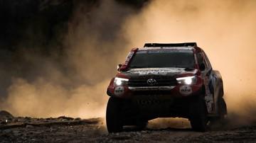 2018-01-19 Rajd Dakar: Brinke się wycofał