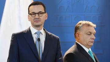 """04-01-2018 13:19 """"Jeszcze Polska nie zginęła, póki my żyjemy"""". Orban podsumował spotkanie z Morawieckim"""