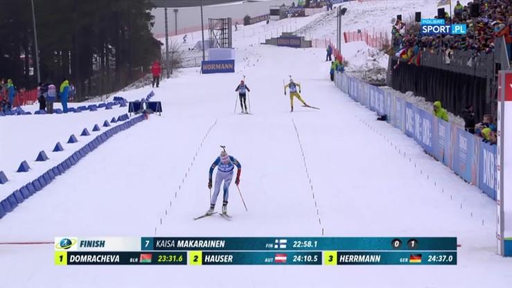 PŚ w biathlonie: Nowakowska szósta w Oberhofie! Skrót sprintu kobiet