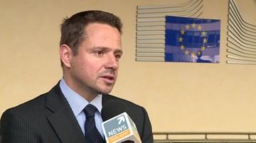 Trzaskowski: PO i Donald Tusk zawsze sprzeciwiali się masowej relokacji uchodźców
