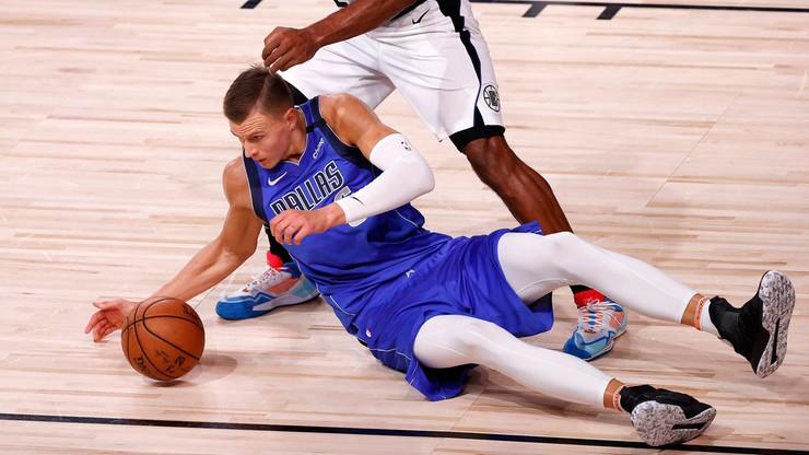 NBA: Porzingis z powodu rehabilitacji kolana opuści początek sezonu