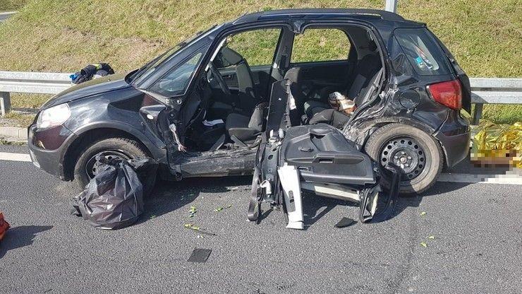 Olecko: śmiertelny wypadek na obwodnicy. Zginęły cztery osoby