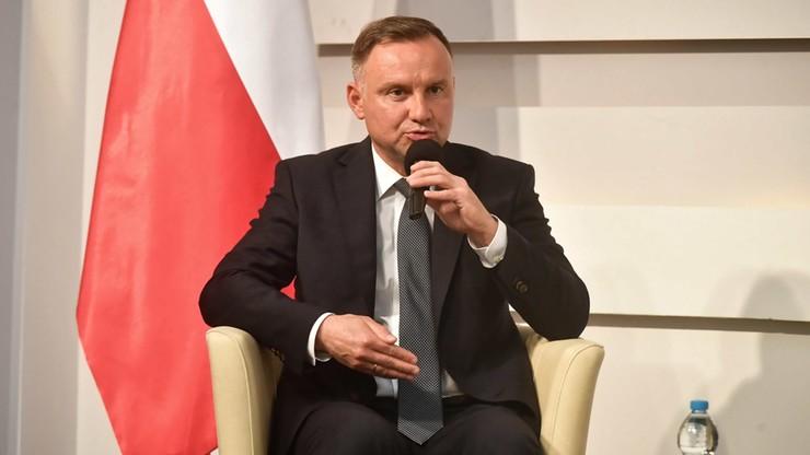 Prezydent Andrzej Duda: byłem przeciwnikiem wyborów korespondencyjnych