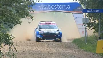 Rajd Estonii: Kajetanowicz i Szczepaniak w czołówce