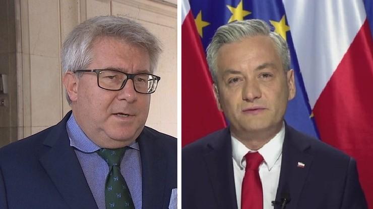 Wspólne oświadczenie Ryszarda Czarneckiego i Roberta Biedronia