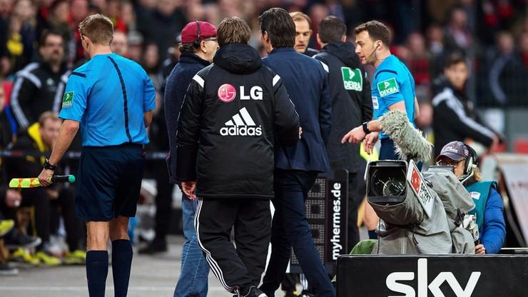 Trzy mecze zawieszenia i grzywna dla trenera Bayeru