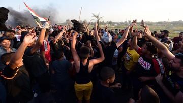 Kolejny dzień protestów w Bagdadzie. Siły bezpieczeństwa strzelają do demonstrantów