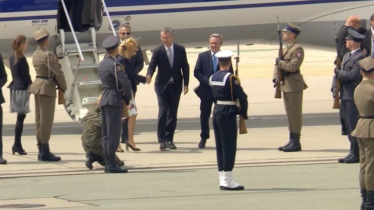 Stoltenberg przybył do Warszawy na szczyt NATO. Spotkanie z prezydentem