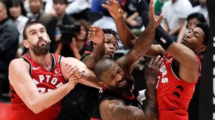 NBA: Raptors wygrali jedenasty raz z rzędu