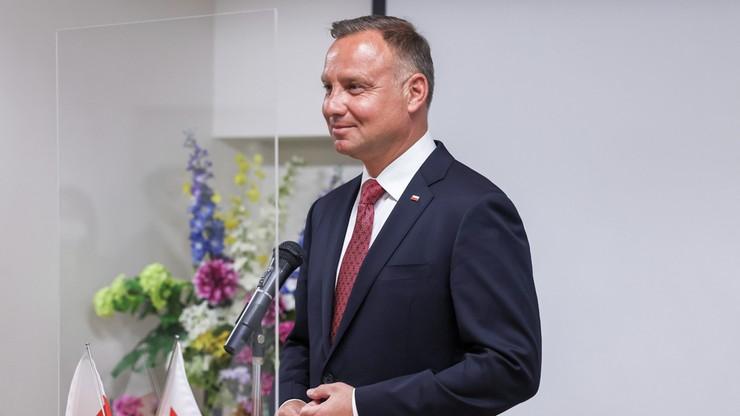 Prezydent: współcześnie symbolem bliskich relacji polsko-japońskich są przedsiębiorcy
