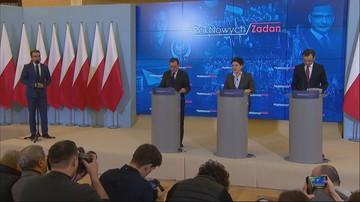 Premier spotkała się z Ziobrą i Kamińskim.  Kontynuacja przeglądu ministerstw