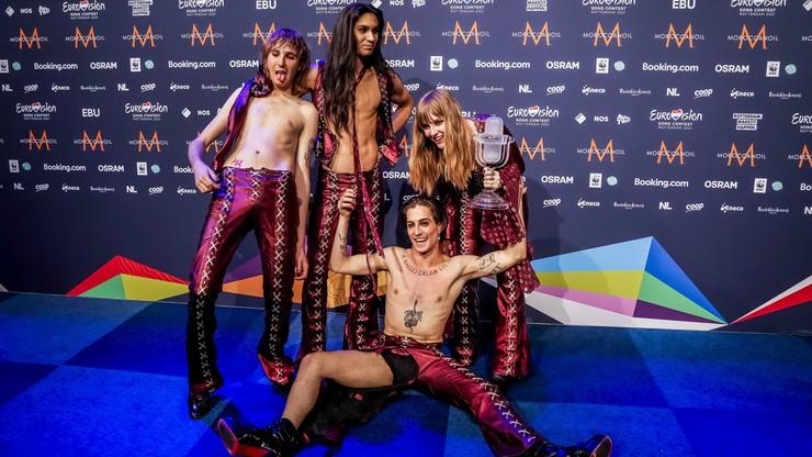 Eurowizja 2021. Włochy triumfują w konkursie.  Zespół Maneskin zaczynał grając na ulicy