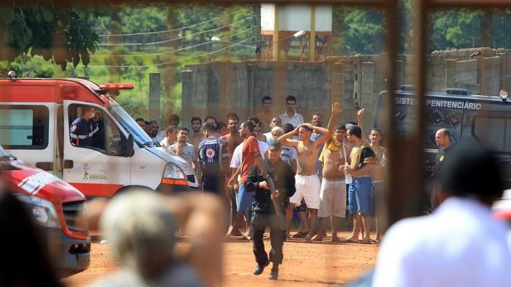 Zamieszki w więzieniu w Brazylii. Co najmniej 9 osób nie żyje