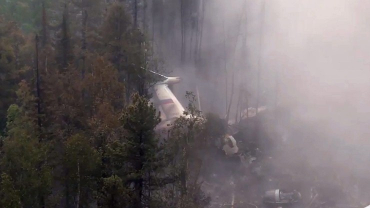 Rosja: rejestratory lotu wskazują, że Ił-76 był sprawny