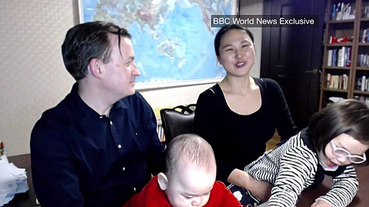 """""""Baliśmy się, że BBC już nie zadzwoni"""". Profesor o słynnym wywiadzie z dziećmi w tle"""
