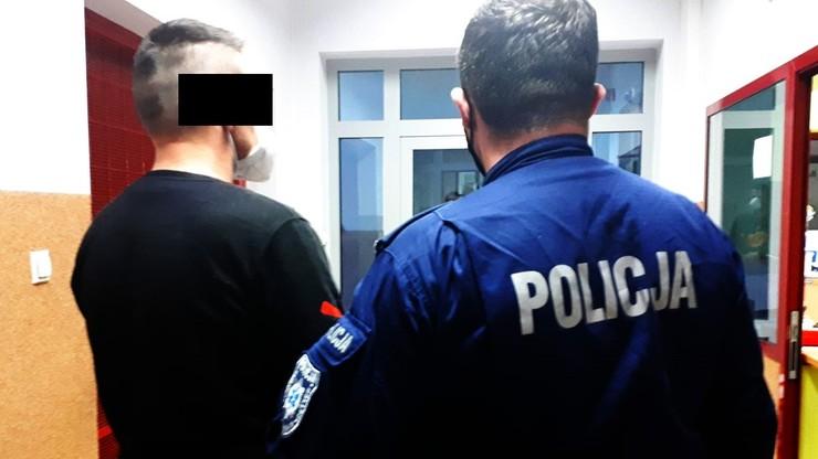 Lubuskie: 37-latek ranił nożem policjanta
