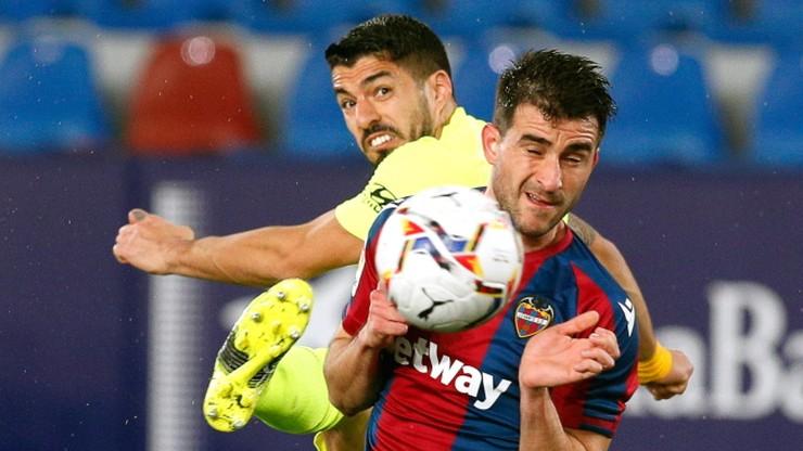 Atletico Madryt straciło punkty. Remis lidera z Levante