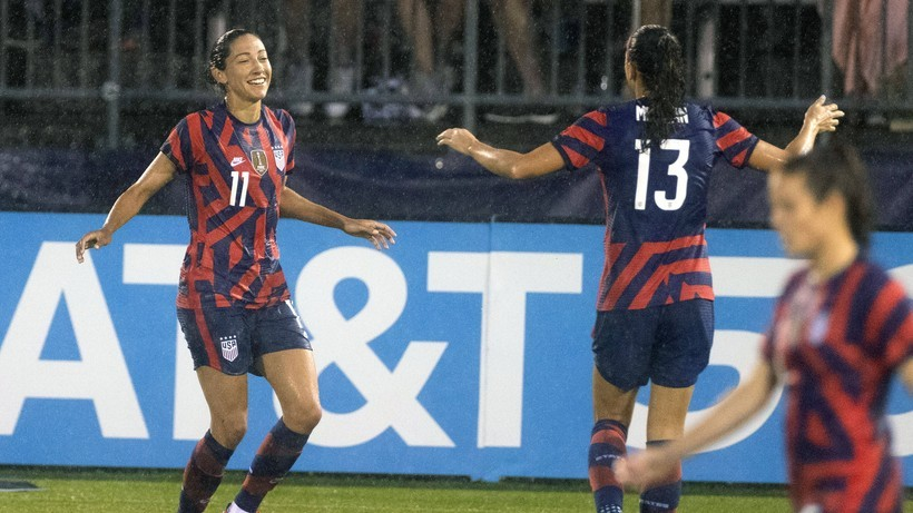 Tokio 2020: Amerykańskie piłkarki z brązowymi medalami