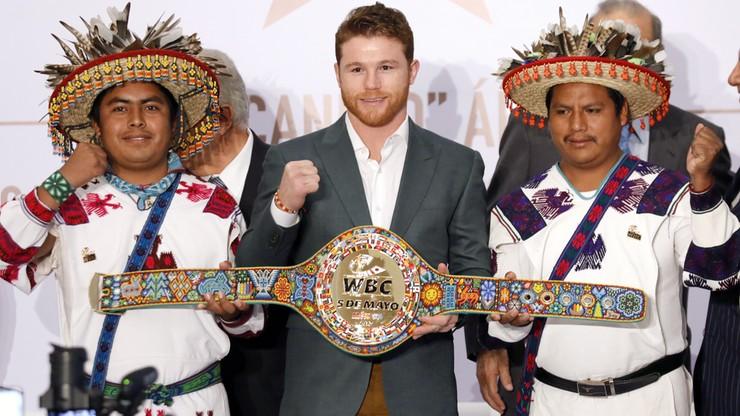 """Kuriozum! Canelo Alvarez został """"nowym"""" mistrzem świata WBC"""
