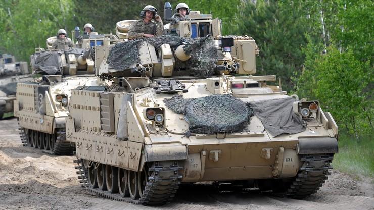 Reuters: USA przerzucą część wojsk z Niemiec do Polski