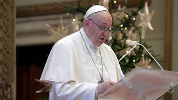 Papież nie odprawi mszy w Nowy Rok. Ma problemy ze zdrowiem