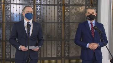 Wniosek o odwołanie wicepremiera Kaczyńskiego. Lewica popiera KO