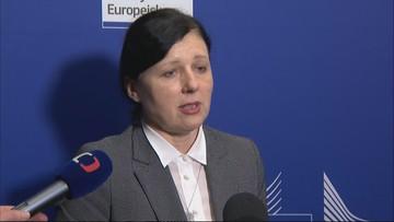 Jourova: nie zgodziliśmy się we wszystkich kwestiach
