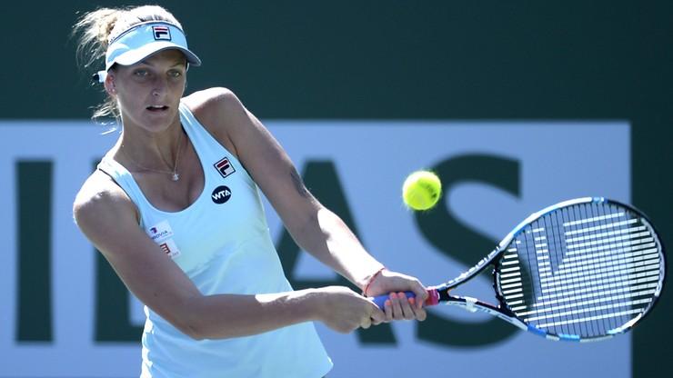 Indian Wells: Karolina Pliskova trzecią półfinalistką