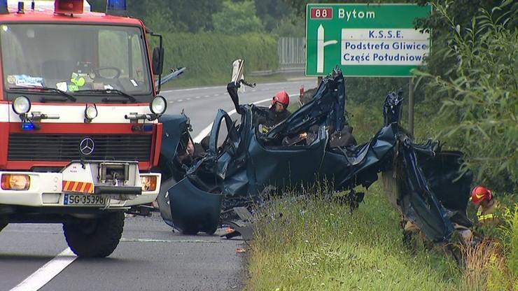 Wypadek w Gliwicach. Zidentyfikowano ofiary