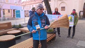 """Ruszyła """"Górska Odyseja"""". Ekolog i podróżnik pokona 700 km zbierając śmieci"""