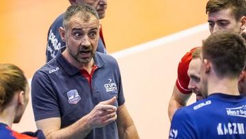 Grbić wskazał kluczowy moment meczu z Zenitem Kazań
