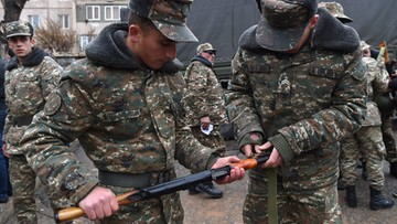Trwają walki w regionie Górskiego Karabachu