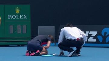 Zła jakość powietrza w Australii utrudnia rozgrywanie meczów. Tenisiści się duszą