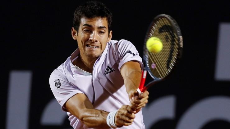 ATP w Santiago: Odpadł najwyżej rozstawiony Garin