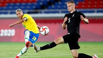 Tokio 2020. Piłka nożna: Arabia Saudyjska - Brazylia. Relacja i wynik na żywo