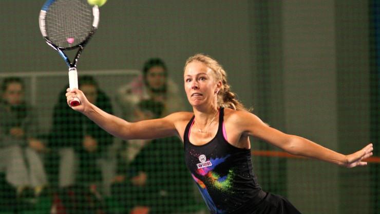 WTA w Lyonie: Magdalena Fręch przegrała z Fioną Ferro po dramatycznym meczu