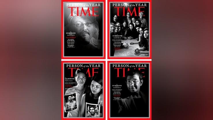 """Zamordowani i szykanowani dziennikarze """"człowiekiem"""" roku tygodnika """"Time"""""""
