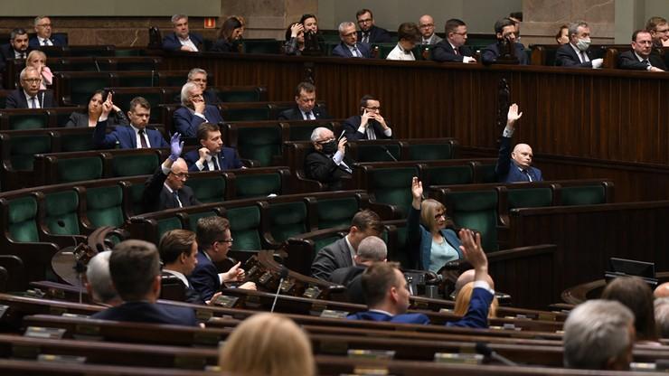 Ustawa wyborcza w Sejmie. Odrzucono część poprawek Senatu