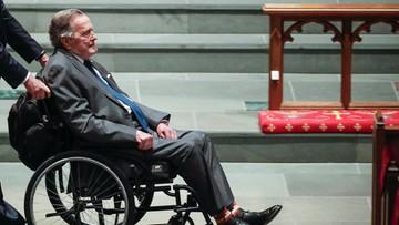 George H. W. Bush trafił do szpitala