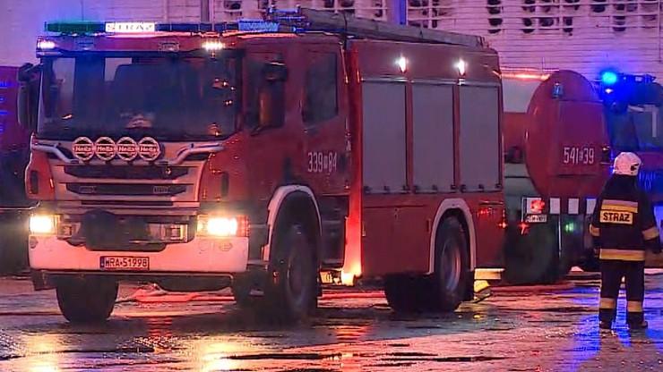 Pożar kamienicy w centrum Radomia. Ewakuowano mieszkańców