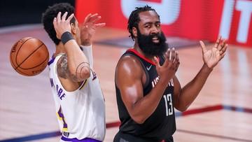 NBA: James Harden zagrał w meczu Rockets, ale jego przyszłość wciąż niejasna