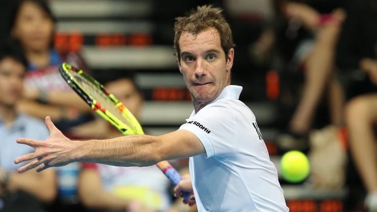 ATP Montpellier: Gasquet lepszy we francuskim finale
