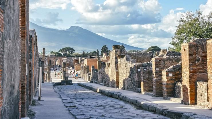 Sensacyjne znalezisko w Pompejach. Kryło się pod warstwami zastygniętej lawy