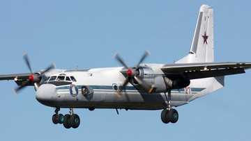 Na lotnisku w Kazachstanie rozbił się wojskowy An-26. Samolot z żołnierzami lądował