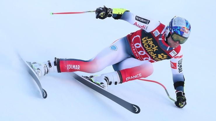 Alpejski PŚ: Pinturault wygrał kombinację w Bormio