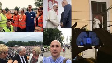 Były minister wolontariuszem, selfie wicemarszałka i premier w tłumie. Czyli politycy i Światowe Dni Młodzieży