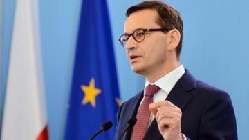 Morawiecki: niedzielne wybory zdecydują, czy chcemy Polski silnej, czy uległej
