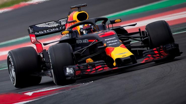 Formuła 1: Ricciardo najszybszy na testach w Barcelonie