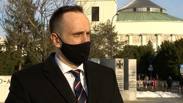 """""""To nie jest spór o stanowiska"""". Janusz Kowalski po dymisji"""
