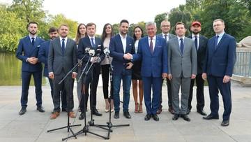 Patryk Jaki zaprezentował skład sztabu wyborczego. Karczewski szefem komitetu poparcia